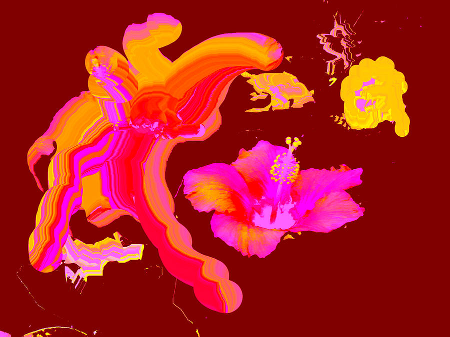 Deviantart Digital Art - Art Play Hibiscus 1 by The MUSEUM Artist Series jGibney