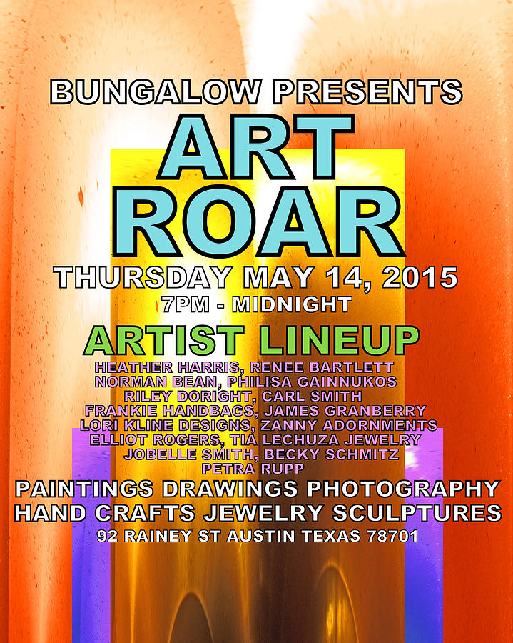 ART ROAR May 2015 by James Granberry