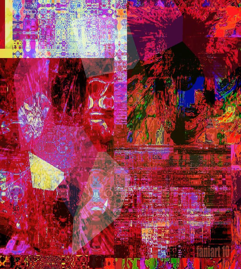Fania Simon Mixed Media - Art Session - Things Unseen by Fania Simon