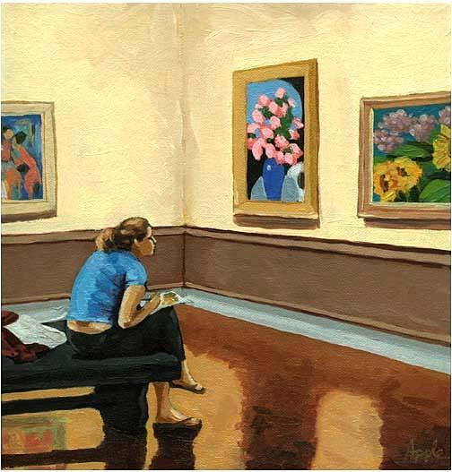 Figurative Painting - Art Studies by Linda Apple