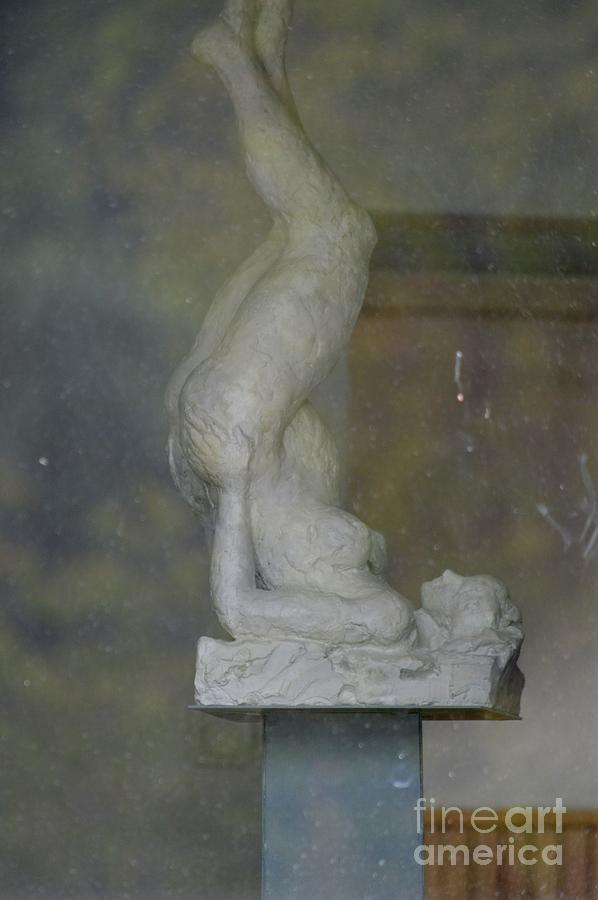 Statue Photograph - Lady by Photos  By Zulma