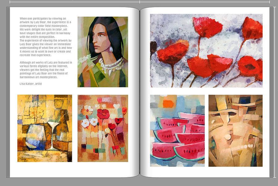 Artbook Lutz Baar by Lutz Baar