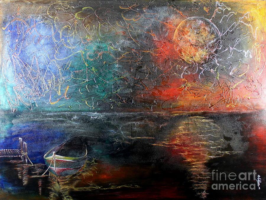God Painting - Artemis by Farzali Babekhan