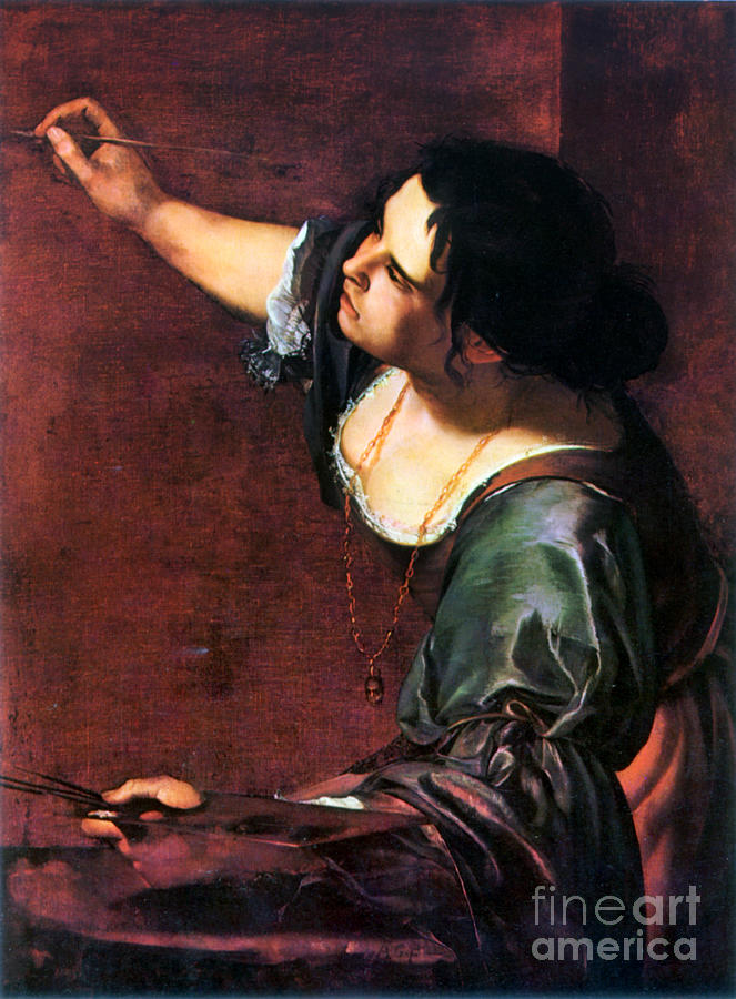 Baroque Photograph - Artemisia Gentileschi by Granger