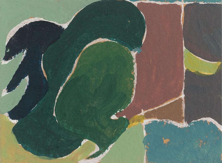 Arthur Dove 1880-1946 Untitled Painting
