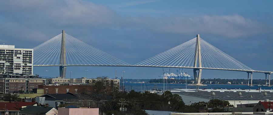 Charleston Photograph - Arthur Ravenel Jr. Bridge by Bill Barber
