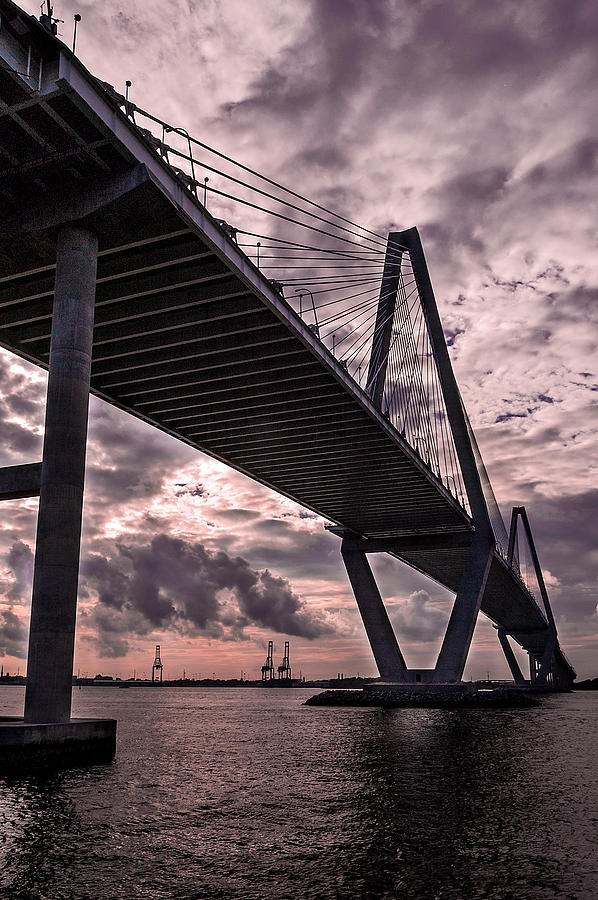 America Photograph - Arthur Ravenel Jr. Bridge by Drew Castelhano