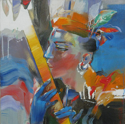 Artist Niladri Paul Paintings Painting by Niladri Paul