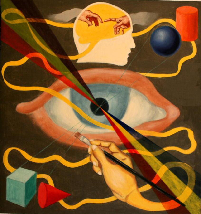 Abstract Painting - Artist by Rosencruz  Sumera
