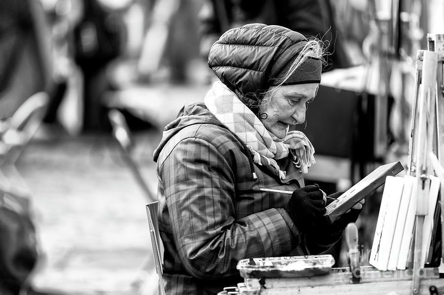 Artiste Paris Photograph - Artiste Paris by John Rizzuto