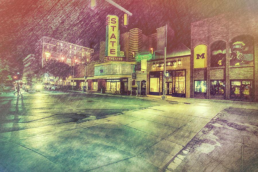 City Photograph - Artistic Ann Arbor by Pat Cook