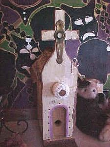 Artistic Birdhouse Mixed Media by John Durham
