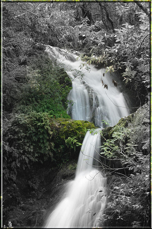 Water Falls Photograph - Artistic Falls by Eric Moss