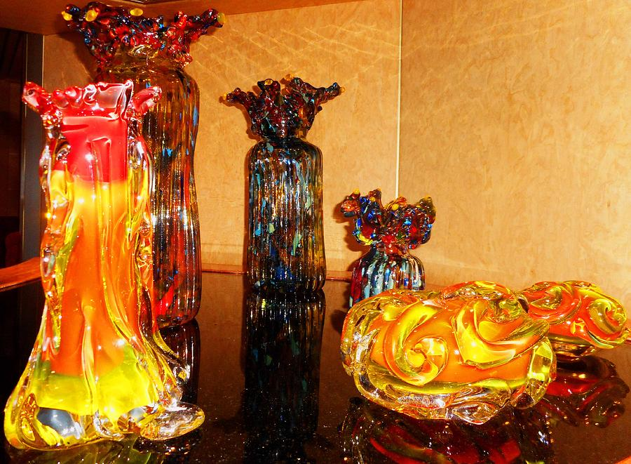 Glass Photograph - Artistic Glass 2 by Ron Kandt