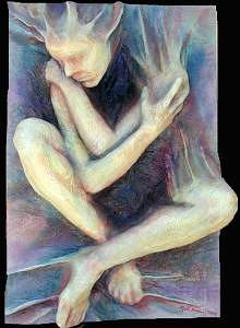 Artists Soul 3 Mixed Media by Marti Nash
