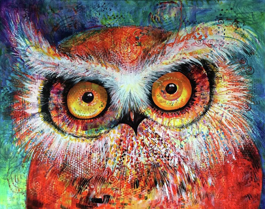 ArtPrize Hoot #1 by Laurel Bahe
