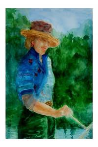 Artist Painting - Artwork For Charlotte Bailey Rierson by Charlotte Bailey Rierson
