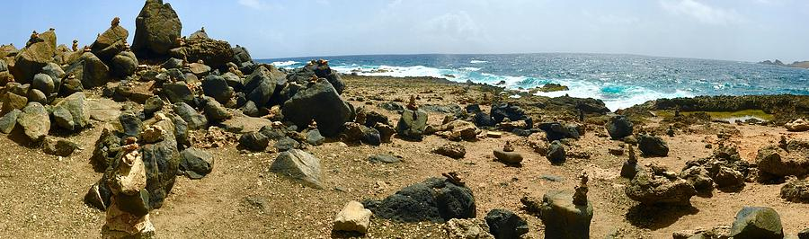 Aruba Shore Panorama by Gary Greer