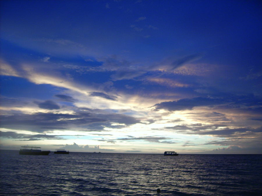 Aruba Sunset Photograph by Amy Giguere