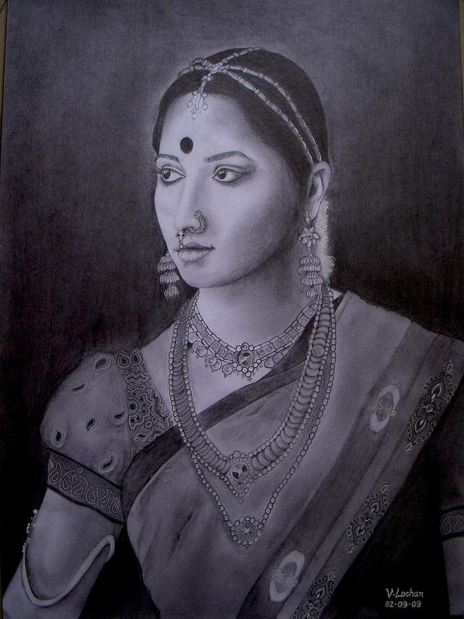 Bride Painting - Arundhati by Lochan Venna