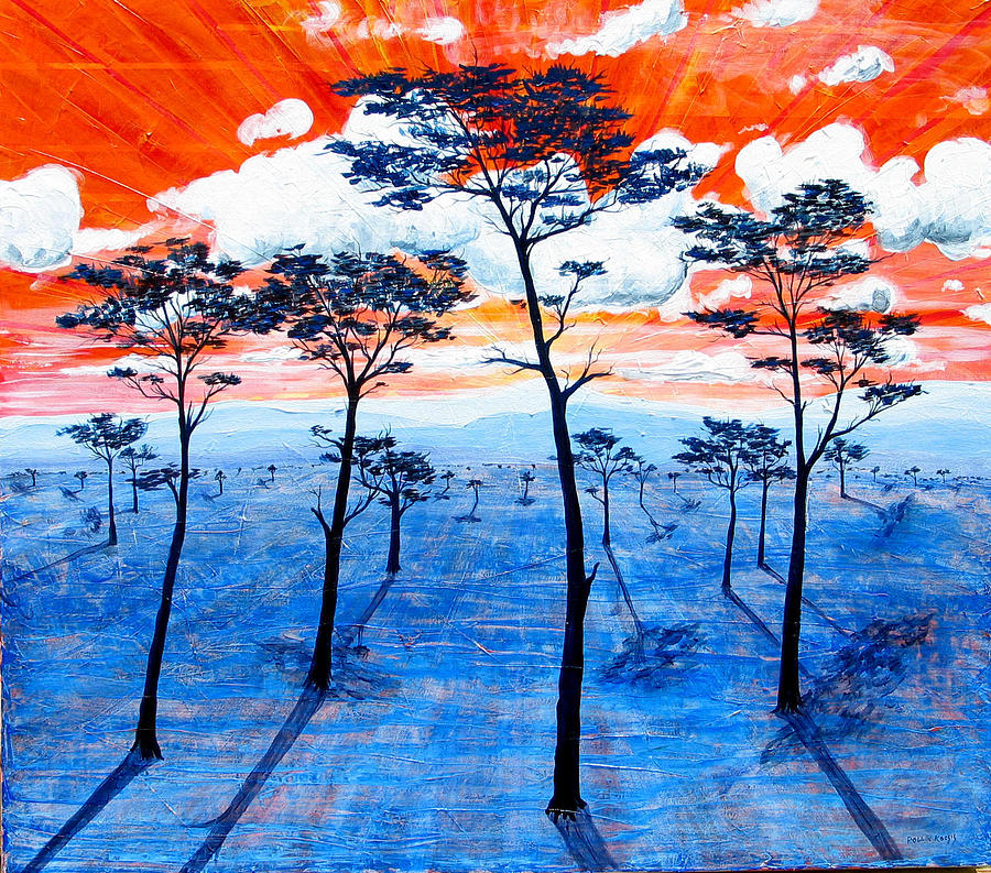 Landscape Painting - As It Was In The Beginning by Rollin Kocsis