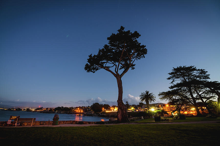 Landscape Photograph - As Night Falls by Margaret Pitcher