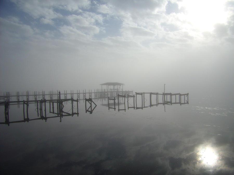 As The Fog Lifts Photograph by Nicole I Hamilton