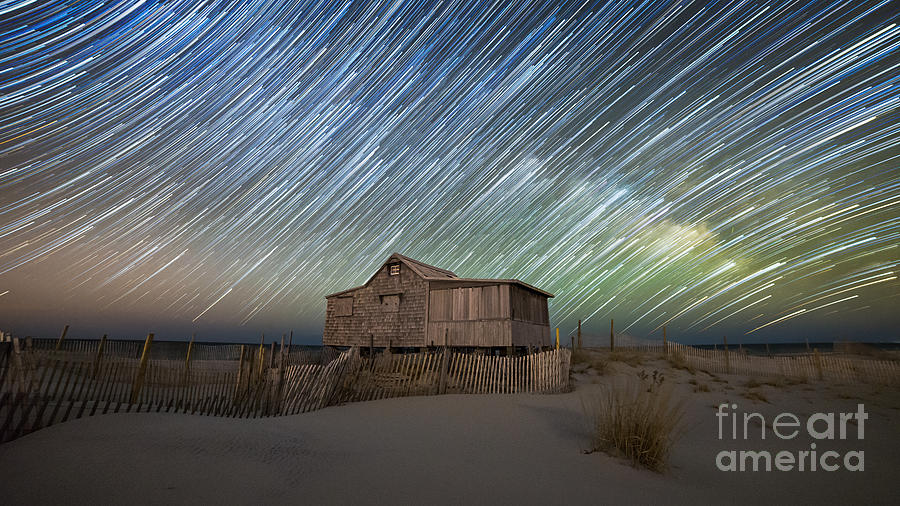 Judges Photograph - As The Stars Passed By  by Michael Ver Sprill