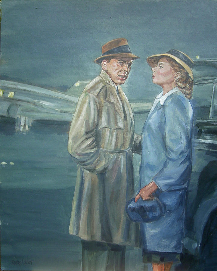 Casablanca Painting - As Time Goes By by Bryan Bustard