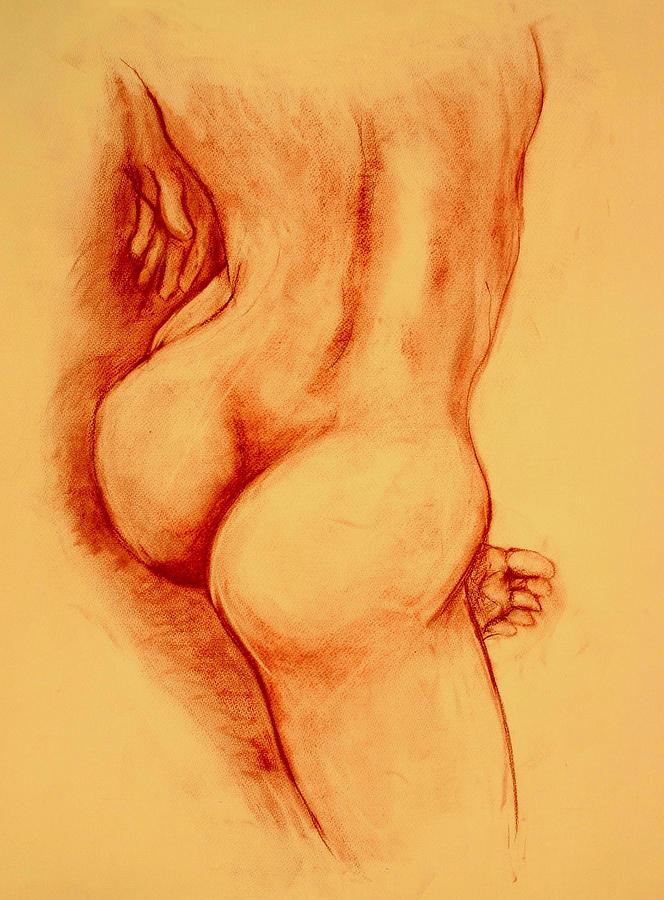 Nude Painting - Asana Nude by Dan Earle