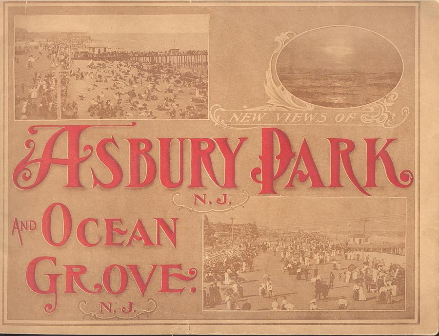 Asbury Park Mixed Media - Asbury Park And Ocean Grove by Newjerseyalmanac