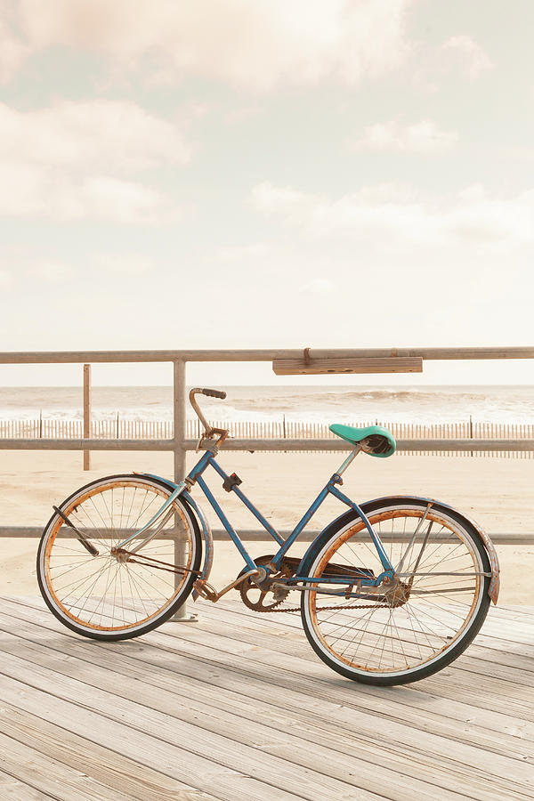Bicycle Photograph - Asbury Park Bicycle by Erin Cadigan