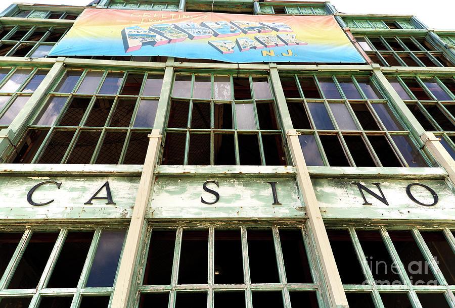 Asbury Park Casino Photograph - Asbury Park Casino by John Rizzuto