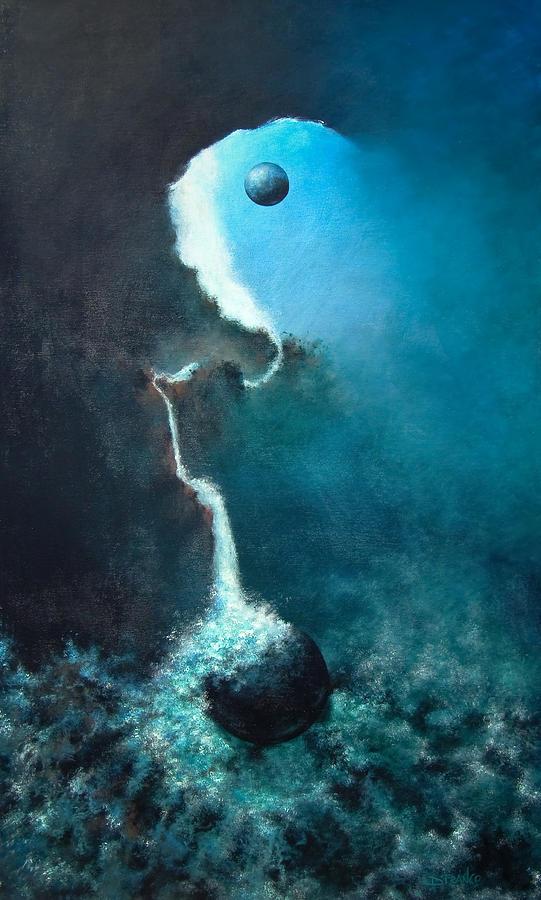 Abstract Paintigs Painting - Ascending by DEVARAJ DanielFranco