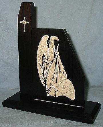 Scrimshaw Mixed Media - Ascension Angel by Jim Stevens
