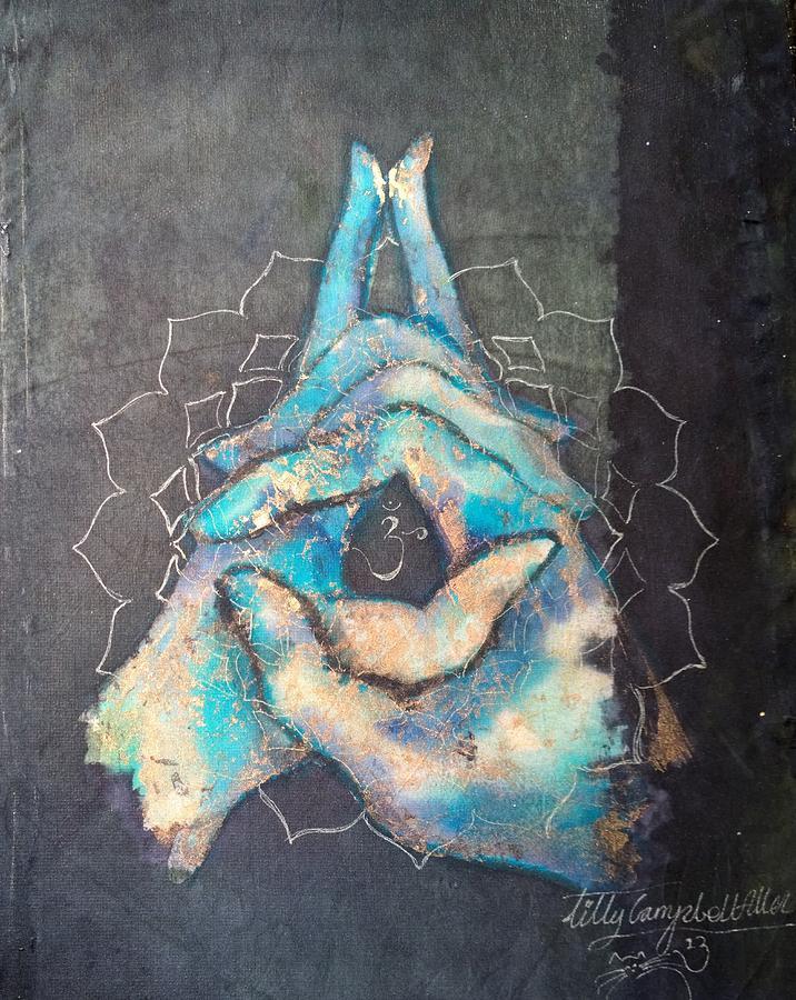 Ascension - Crown 'blue Hand' Chakra Mudra