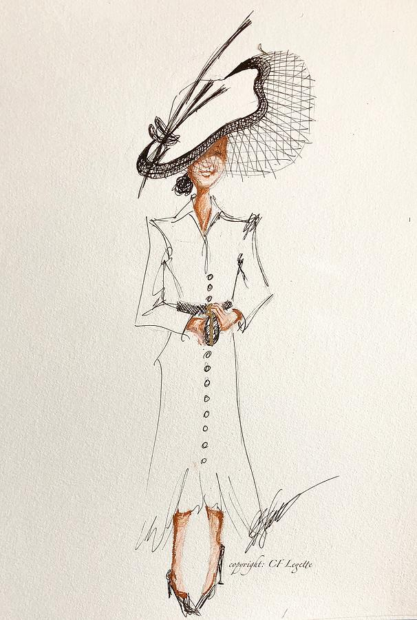 Ascot Duchess Of Sussex Drawing