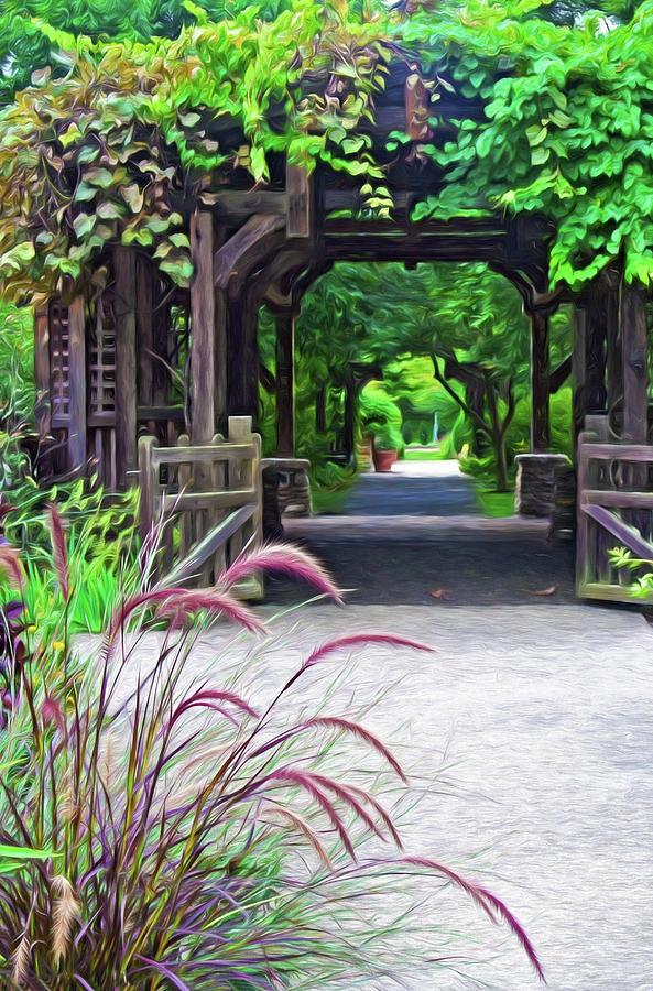 Asheville NC Arboretum by Ginger Wakem