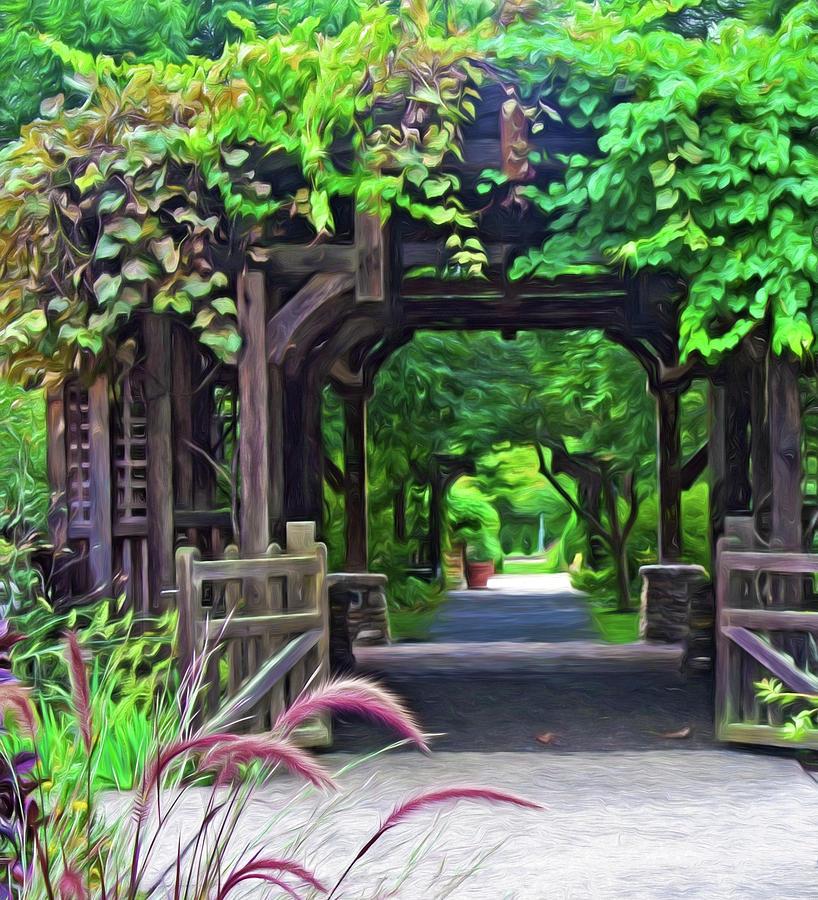 Asheville NC Arboretum 2 by Ginger Wakem
