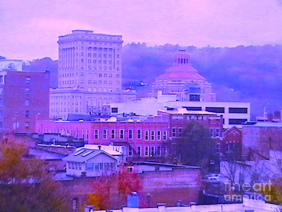 Asheville N C  In The Pink Photograph