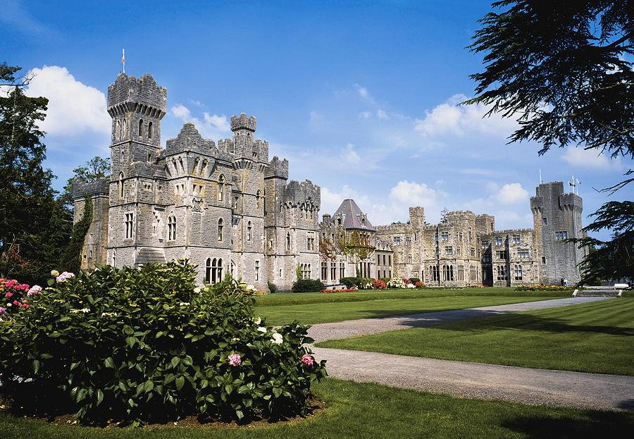 Ashford Castle County Mayo Ireland Photograph By The