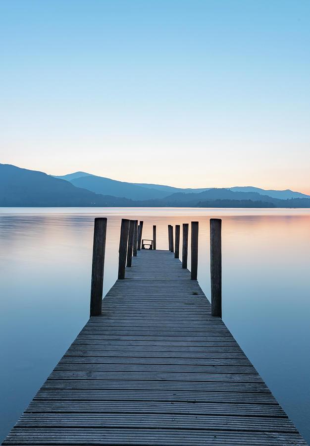 Lake District Photograph - Ashness Bridge  by Mark Mc neill