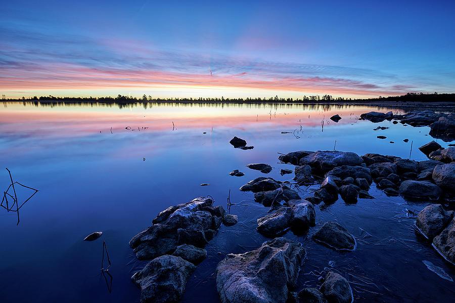 Jon Glaser Photograph - Ashurst Lake In The Morning by Jon Glaser