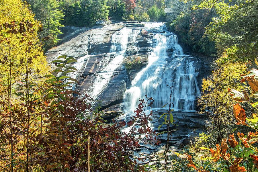 Asheville Photograph - Ashville Area Waterfall by Richard Goldman