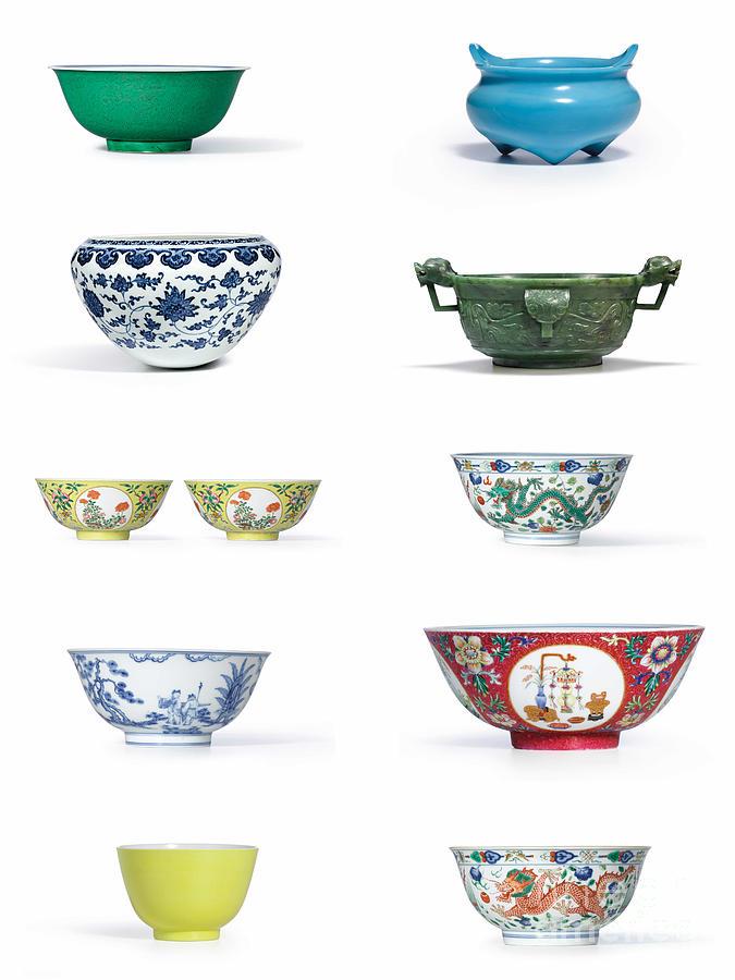 Asian Art Chinese Pottery Photograph