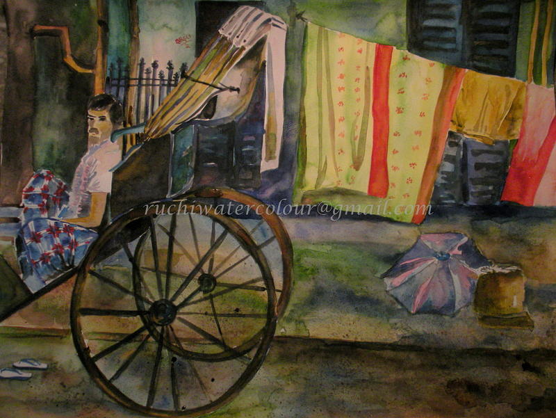 Landscape Painting - Ask The Possible by Ruchi Singh