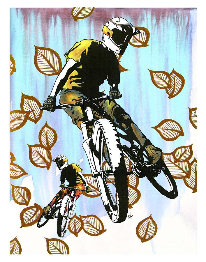 Outdoor Sport Drawing - Aspen Folly by Christine Pointeau