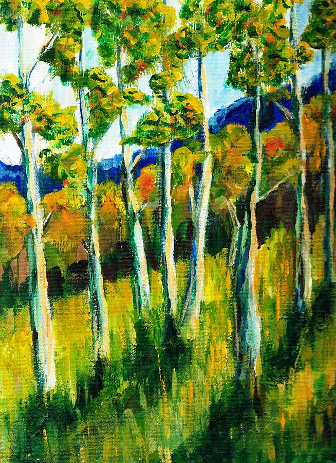 Aspen Painting - Aspen Highlands by Randy Sprout