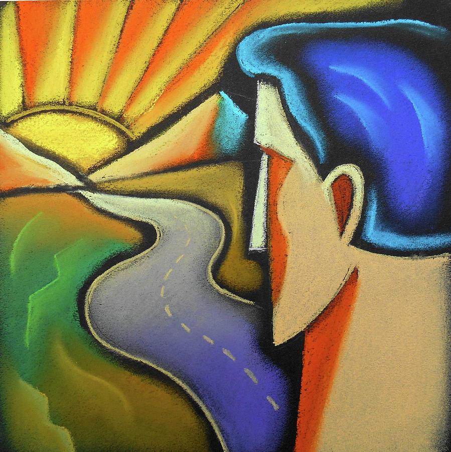 Aspiration Painting by Leon Zernitsky