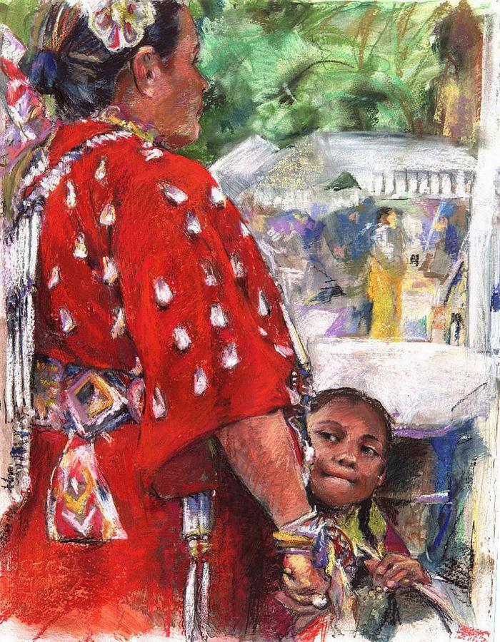 Native American Painting - Aspire by Debra Jones